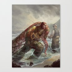 Diver's Haul Canvas Print