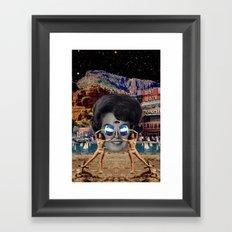 Female Framed Art Print