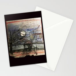 Nocturne appointement Stationery Cards
