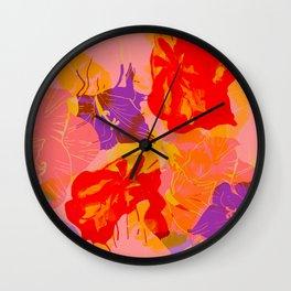 Floral Summer Dream Wall Clock
