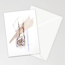 ..never let you go Stationery Cards
