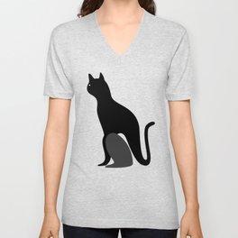 cat2 Unisex V-Neck