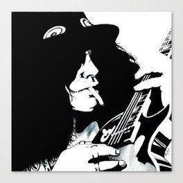 Slashed!! Canvas Print