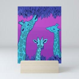 Giraffes Gone Wild part 2 Mini Art Print