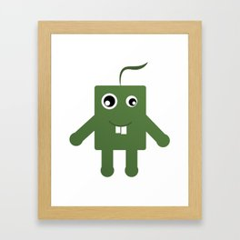 Kooky Framed Art Print