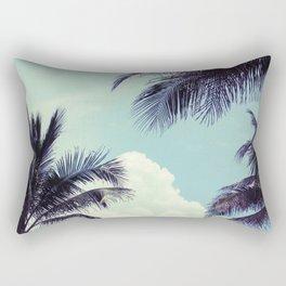 Welcome to Miami Palm Trees Rectangular Pillow