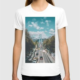 Lions Gate Bridge T-shirt