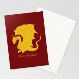 Distressed Pendragon Crest Stationery Cards