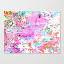 Abstract printed phone case Canvas Print