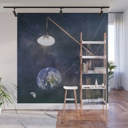 Earth hour Wall Mural