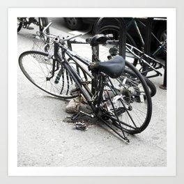 bikes 05 Art Print