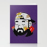 kevin russ Stationery Cards featuring Kevin by Derek Eads