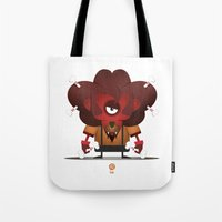 leo Tote Bags featuring LEO by Angelo Cerantola
