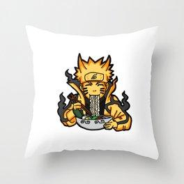 Kyuubi Ramen Throw Pillow