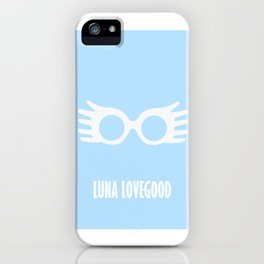 Luna Lovegood iPhone Case
