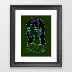 Pastel cutie. Framed Art Print