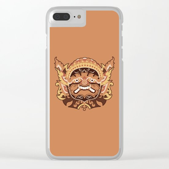 GIANT IN THAILAND Clear iPhone Case