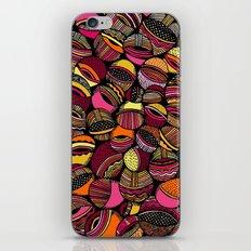 Aristoloschia Pink&Orange iPhone & iPod Skin