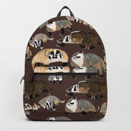 American badger Backpack