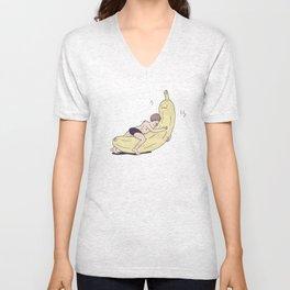 Banana love Unisex V-Neck