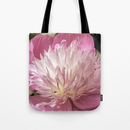 Pink Peony Bowl of Beauty Tote Bag