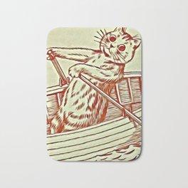 Cat Row Boating  - Louis Wain Cats Bath Mat