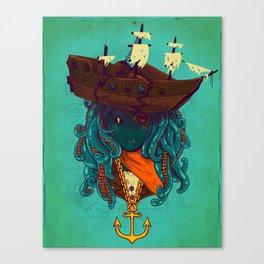 The Bride of Neptune Canvas Print