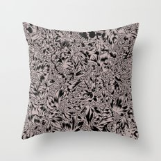 Hidden In the Leaves Throw Pillow