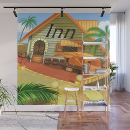 Costa Del Sol Inn Wall Mural