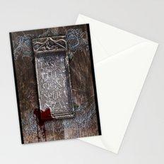 LASCIATE OGNI SPERANZA Stationery Cards