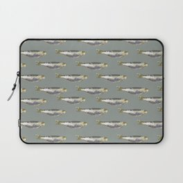 Anchovies Group Print Pattern Laptop Sleeve