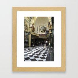 Melbourne Arcade Australia Framed Art Print