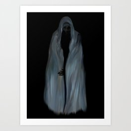The Reaper - Halloween Art Print