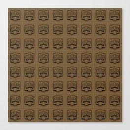 Maya pattern 5 Canvas Print