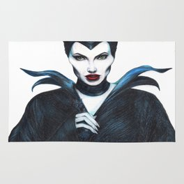 Maleficent Drawing Rug