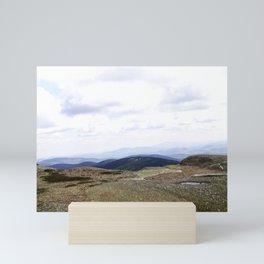 Earth is Curvy Mini Art Print