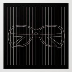shades 10 Art Print