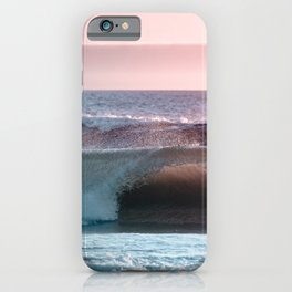 Beach Adventure Summer Waves at Sunset IX iPhone Case