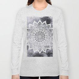 BOHO WHITE NIGHTS MANDALA Long Sleeve T-shirt