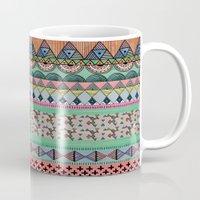 ethnic Mugs featuring  Ethnic  by moniquilla