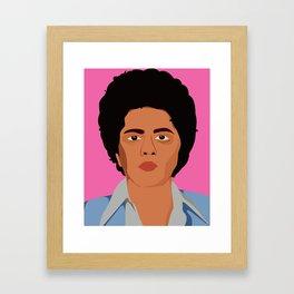 BrunoMars Framed Art Print