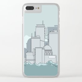 City #4 Clear iPhone Case