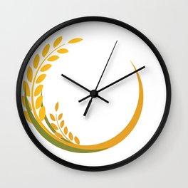 Celiac disease awareness Shirt Ribbon Wall Clock