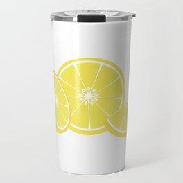 slice of lemon Travel Mug
