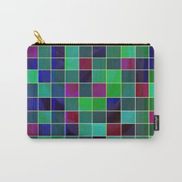 checkered Carry-All Pouch