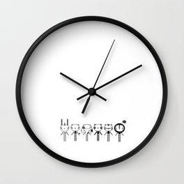MOOKii Co. Friends Wall Clock