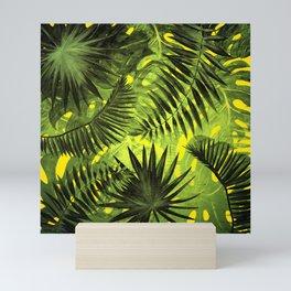 Tropical Leaves Aloha Jungle Garden Mini Art Print