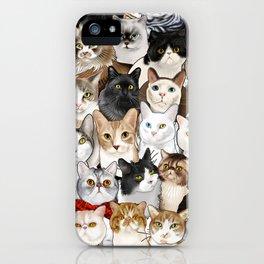 Catmina 2017 - SIX iPhone Case