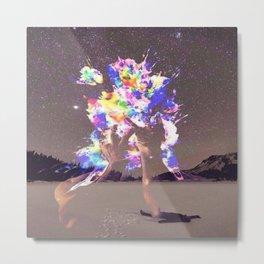 Mindful Explosion Metal Print
