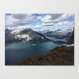 Kananaskis Lakes Canvas Print